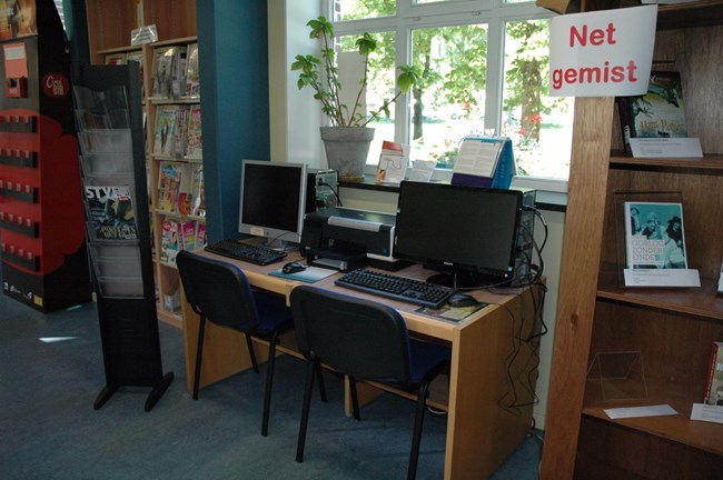 PC in de bibliotheek