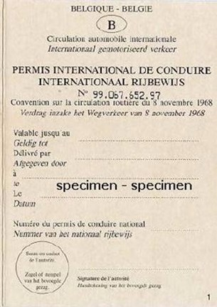 Internationaal rijbewijs